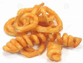 Foto Twister Fries Large