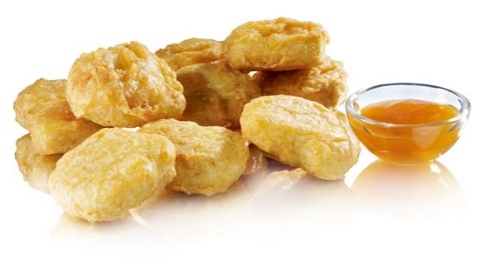 Foto Chicken nuggets 9st